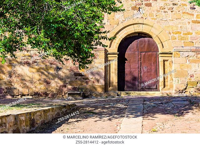 Church of La Asuncion. Hombrados. Guadalajara, Castilla La Mancha, Spain, Europe