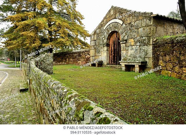 Chapel of San Sebastiao in Idanha-a-Velha, Castelo Branco, Portugal