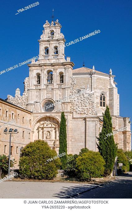 Santa Maria de La Vid Monastery, Ribera del Duero, Duero river, premostratense, XIIth, XVIth, XVIIIth Centuries, Burgos, Castilla y Leon, Spain