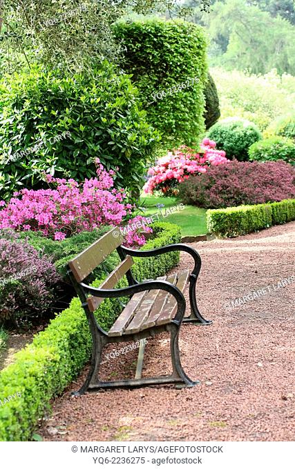 Robert Burns Garden, Alloway, Scotland