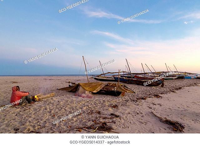 Sleep on the beach,Antsanitia, Madagascar