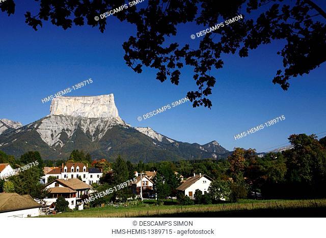 France, Isere, Parc Naturel Regional du Vercors (Natural regional park of Vercors), village of Chichilianne