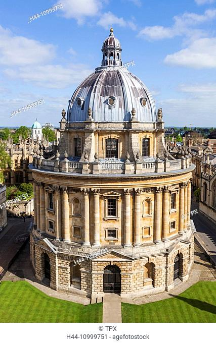 England, Oxfordshire, Oxford, The Radcliffe Camera Library