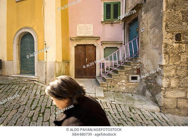 Labin, Istria, Croatia