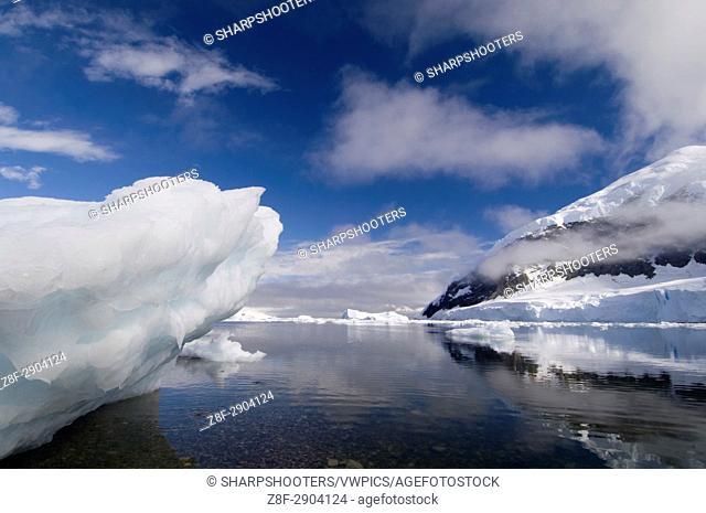 Antarctica, Antarctic Peninsula, Gerlache strait, Neko Harbor