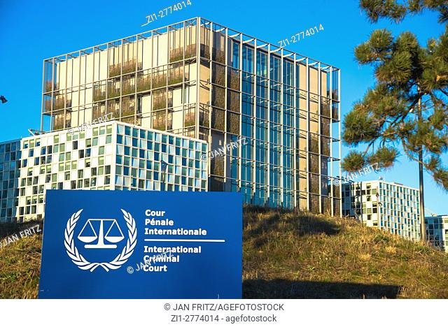 International Criminal Court in Den Haag, Holland