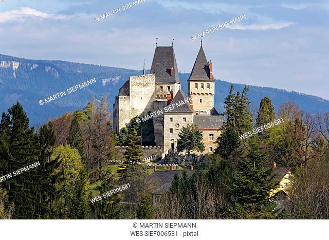 Austria, Lower Austria, Bucklige Welt, Burg Wartenstein