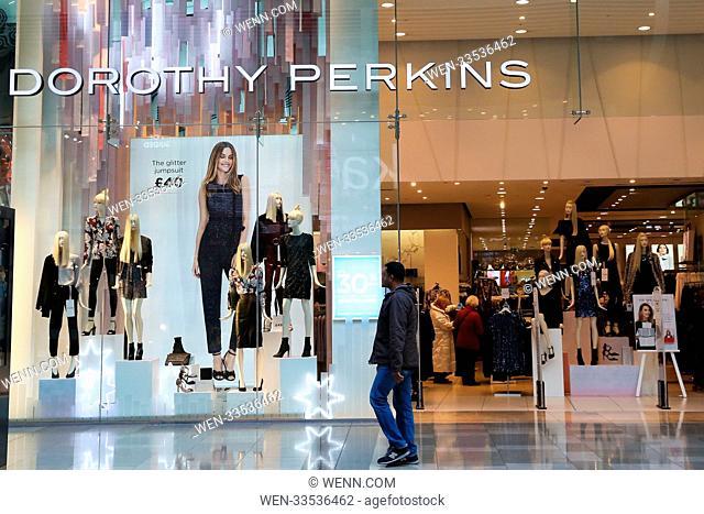 High street stores in Westfield Stratford, London Featuring: Dorothy Perkins Where: London, United Kingdom When: 10 Nov 2017 Credit: WENN.com