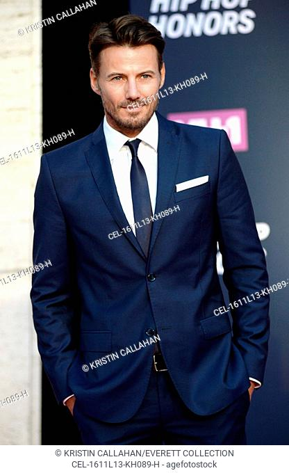 Alexander Lundqvist at arrivals for VH1 Hip Hop Honors: All Hail The Queens, David Geffen Hall at Lincoln Center, New York, NY July 11, 2016