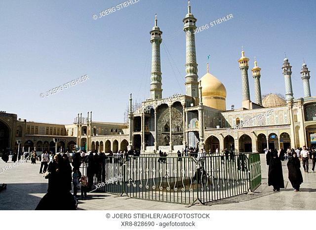 Iran, Qom, Shrine of Fatemeh Masoumeh, Inner Court