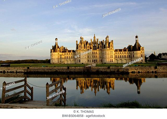 Loire castle, Chateau de Chambord, France, Loire Valley, Chambord