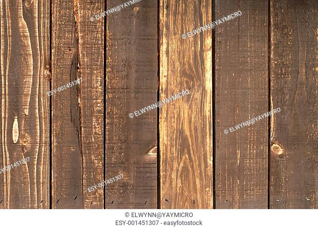 a brown wood wall