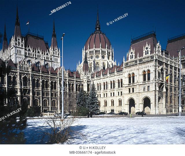 Hungary, Budapest, parliament
