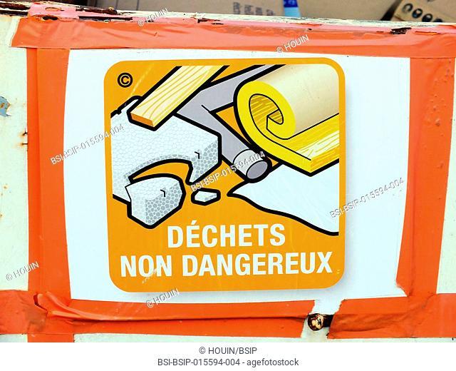 Skip for non-dangerous waste