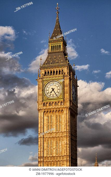 The Big Ben,Houses of Parliament,Westminster,London