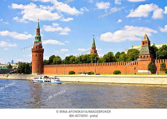 Moscow Kremlin and the Moskva River, Moscow, Russia
