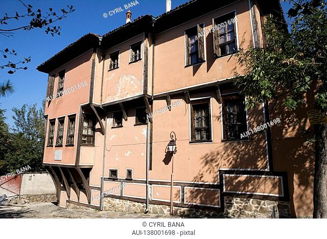 Bulgaria - North-West Region - Rhodope Mountains - Plovdiv - Old City - House Lamartine