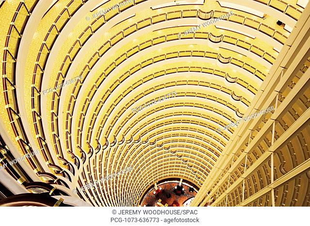 Hotel Atrium in the Jin Mao Tower