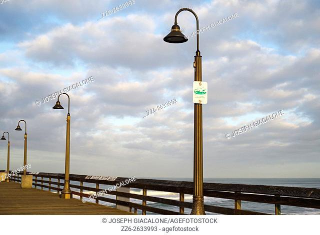 Imperial Beach Pier. Imperial Beach, California