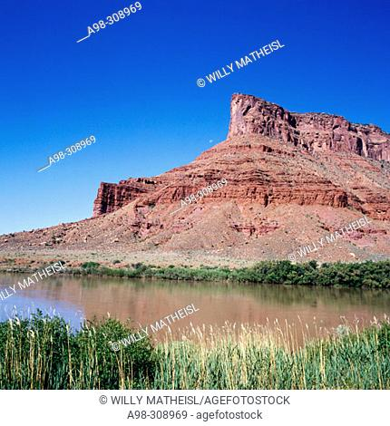 Colorado river near Moab. Utah. USA