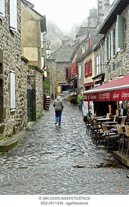 Salers, Cantal Department, Auvergne, France