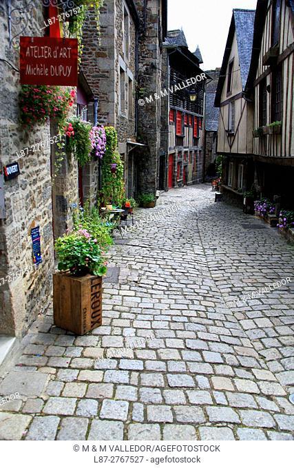 France, Bretagne, Cotes d'Armor, Dinan