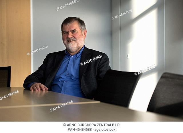 Manfred Freimueller, member of the Management Board of the stagecraft company SBSBuehnentechnik GmbH is photographed at the company premesis inDresden