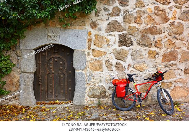 Camino de Santiago by bicycle Saint James way of Levante