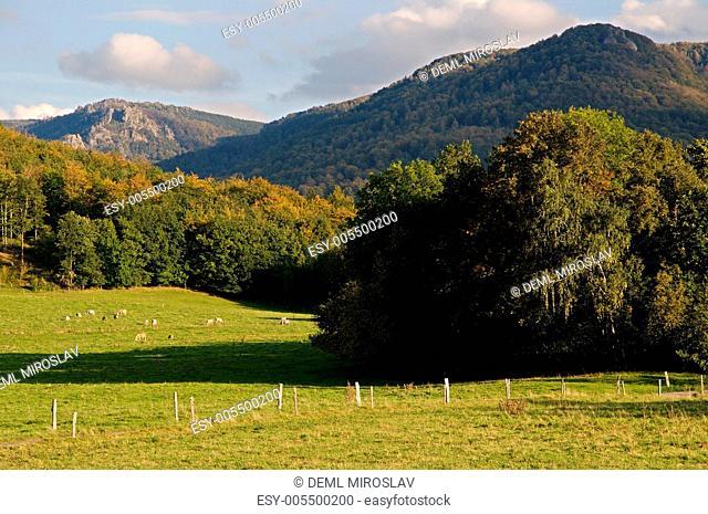 Czech republic, Jizerske hory from Old pilgrimage route