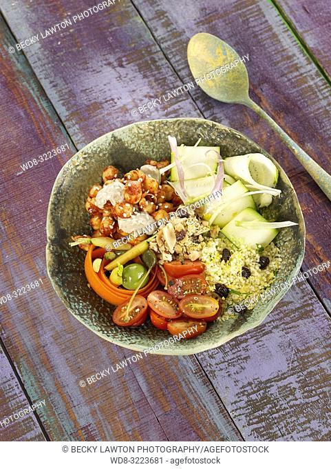 cuscus vegetariano / vegetarian couscous