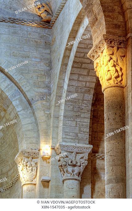 Romanesque church of San Martin de Tours, Fromista, Palencia, Castile and Leon, Spain