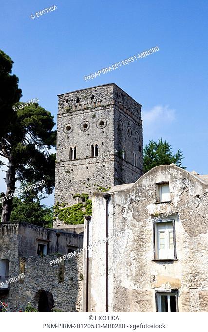Historic building in a town, Villa Rufolo, Ravello, Salerno Province, Campania, Italy