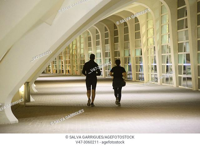 The hallways of the City of Sciences are idyllic places to practice outdoor sports
