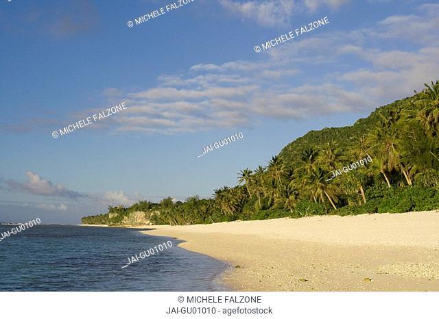 Beach, Ritidian Point, Guam USA, Micronesia