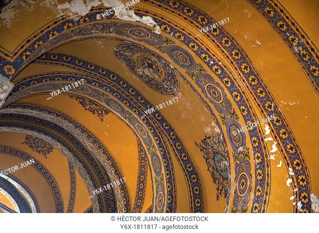 Roof detail from hagia sophia