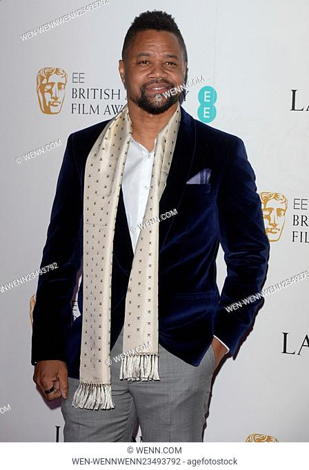 EE British Academy Film Awards (BAFTA) Nominees Party at Kensington Palace - Arrivals Featuring: Cuba Gooding Jr. Where: London