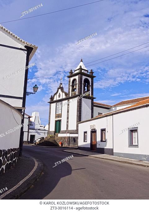 Church of Santo Cristo, Graciosa Island, Azores, Portugal
