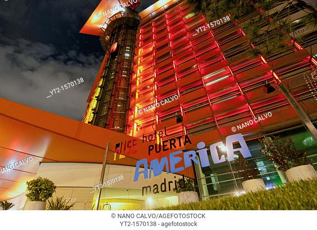 Hotel Puerta de America in Madrid, Spain  A Silken group hotel that brings together an all-star stable of contemporary design gurus to stamp their mark on a...