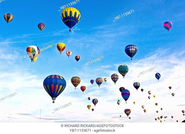 Balloon Festival  Albuquerque, New Mexico, Usa