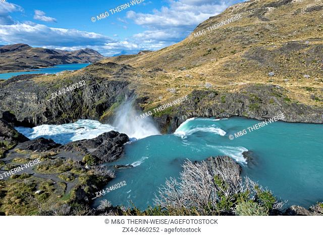 Cascade, Torres del Paine National Park, Chilean Patagonia, Chile