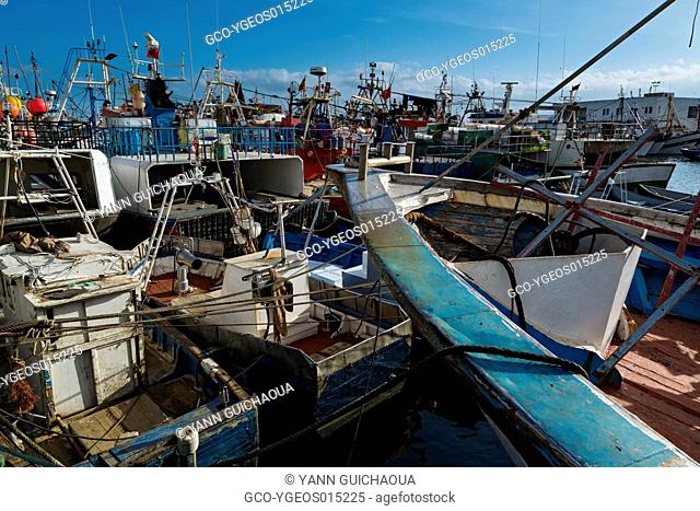 The Harbour, Tangier, Morocco