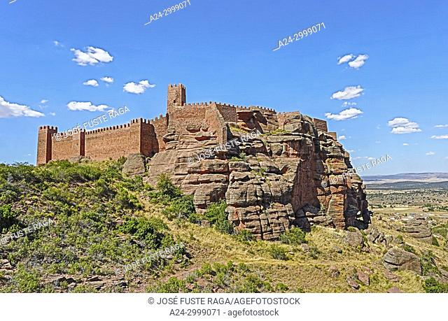 Spain,, Aragon, Teruel Province, Peracense Castle