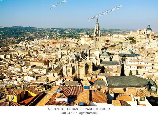 Views of Toledo. Castilla la Mancha. Spain