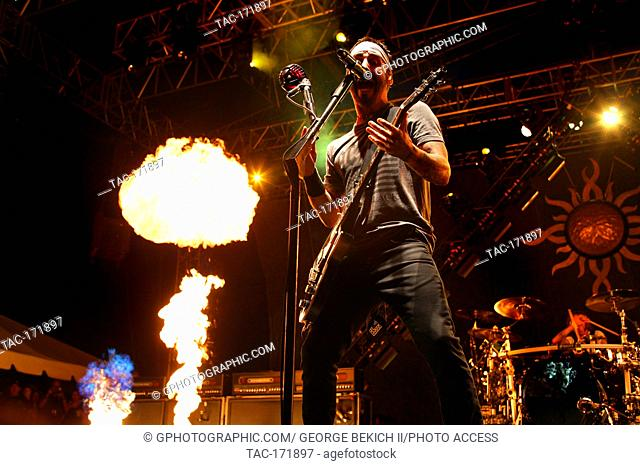 Sully Erna Lead singer of Godsmack Performs at Inkcarceration 7-13-2019