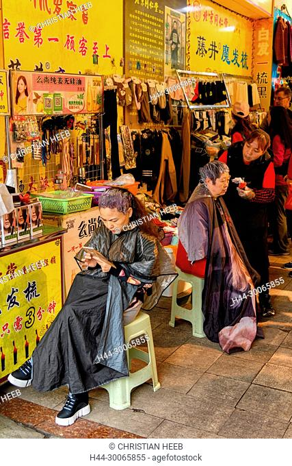 Asia, China, Peoples Republic, Sichuan Province, Chongqing, market