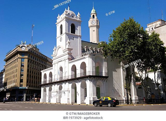 Buenos Aires Cabildo, Plaza de Mayo, Buenos Aires, Argentina, South America