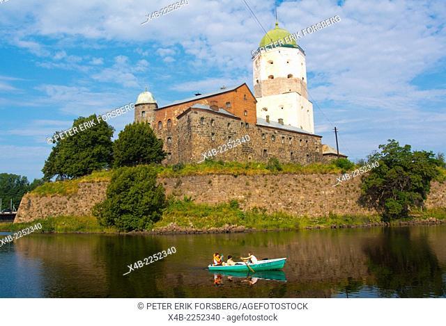 Castle (1290), Vyborg, Karelia, Russia, Europe