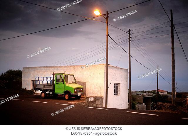 Village in El Hierro, Canary Islands, Spain
