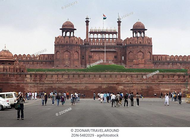 Palast rotes Fort, Dehli, Indien