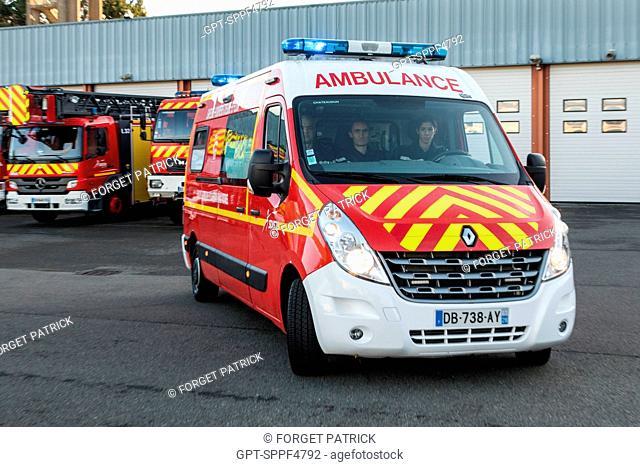 EMERGENCY SERVICES DEPARTMENT OF CHATEAUDUN, EURE-ET-LOIR (28)